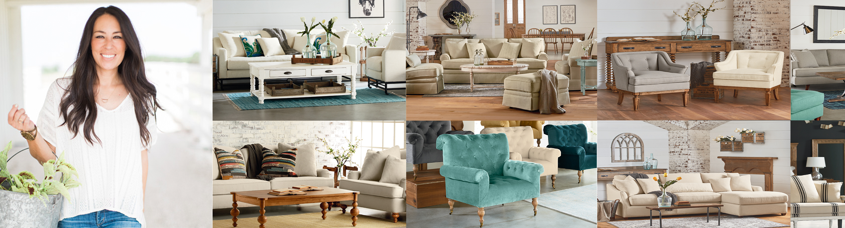 Magnolia Home Preview Upholstered Living Room Collection