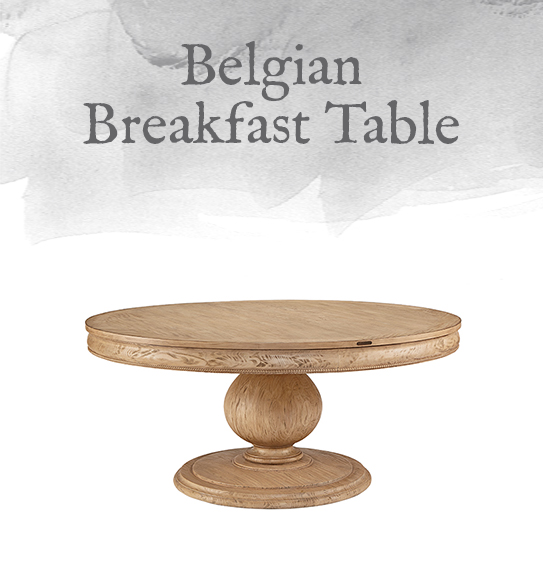 Belgian Breakfast Table