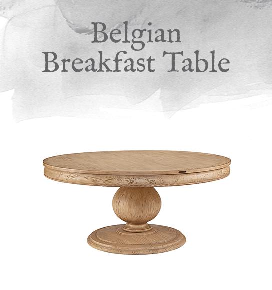 Belgian Breakfast Table