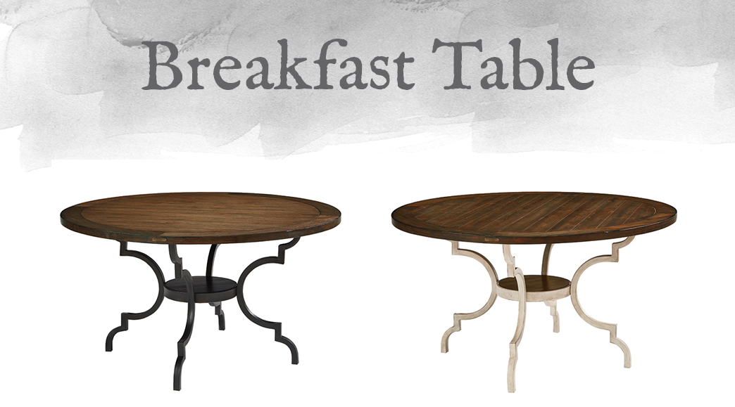 French-Inspired Breakfast Table