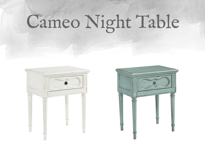 French-Inspired Cameo Night Table