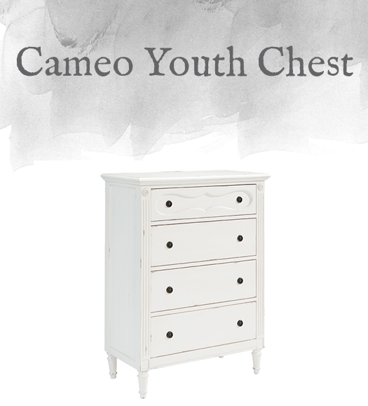 French-Inspired Cameo Youth Chest