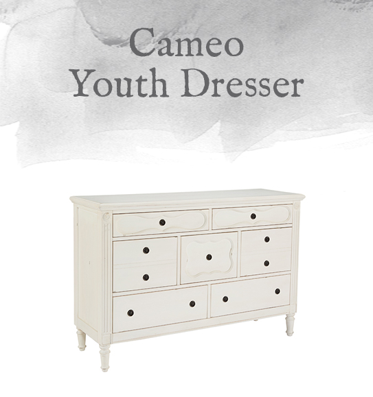 Cameo Youth Dresser