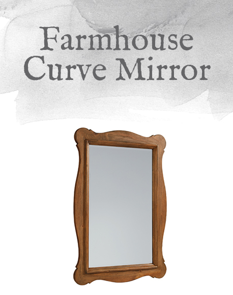 Farmhouse Curve Mirror