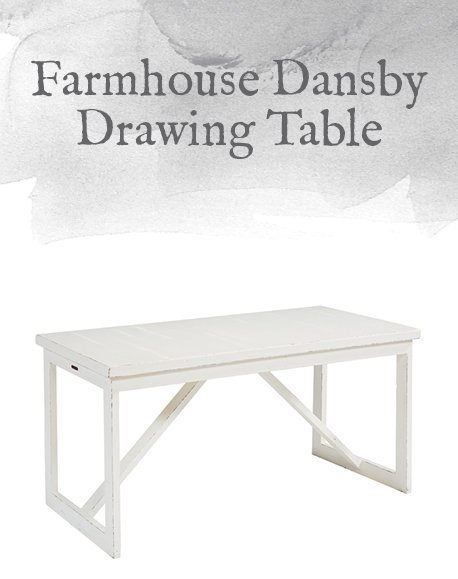 Farmhouse Dansby Drawing Table