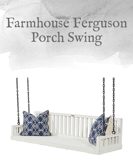 Farmhouse Ferguson Porch Swing
