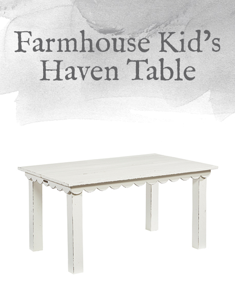 Farmhouse Kid's Haven Table