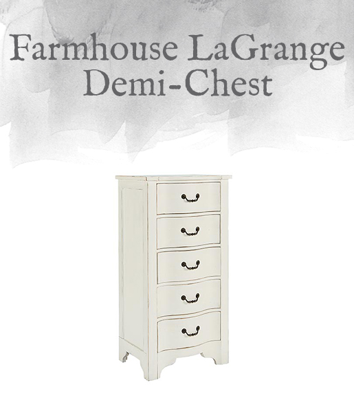 Farmhouse LaGrange Demi-Chest