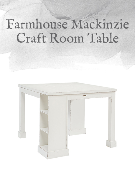 Farmhouse Mackinzie Craft Room Table