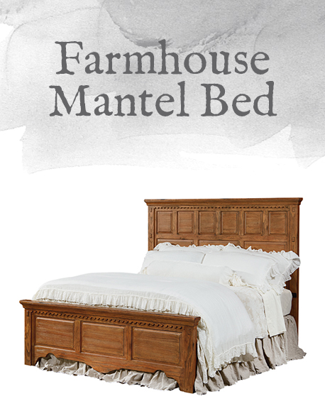 Farmhouse Mantel Bed
