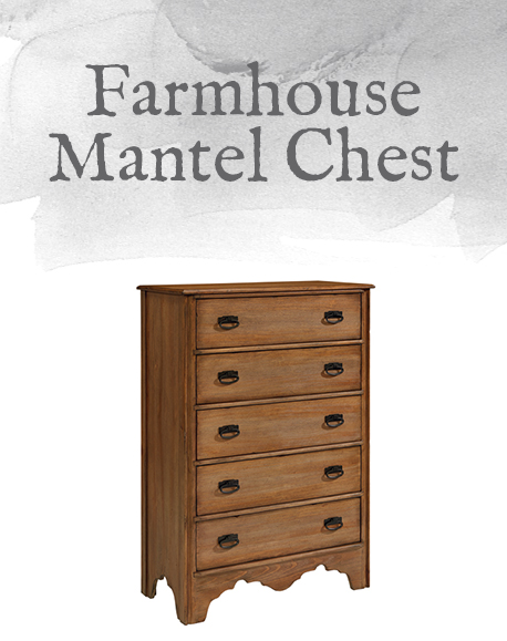 Farmhouse Mantel Chest