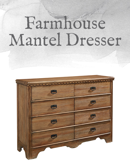 Farmhouse Mantel Dresser