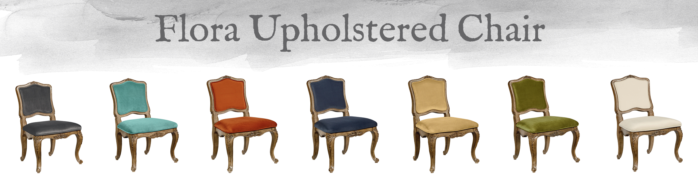 French-Inspired Flora Upholstered Chair