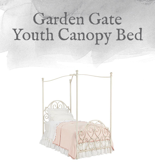 Garden Gate Youth Canopy Bed