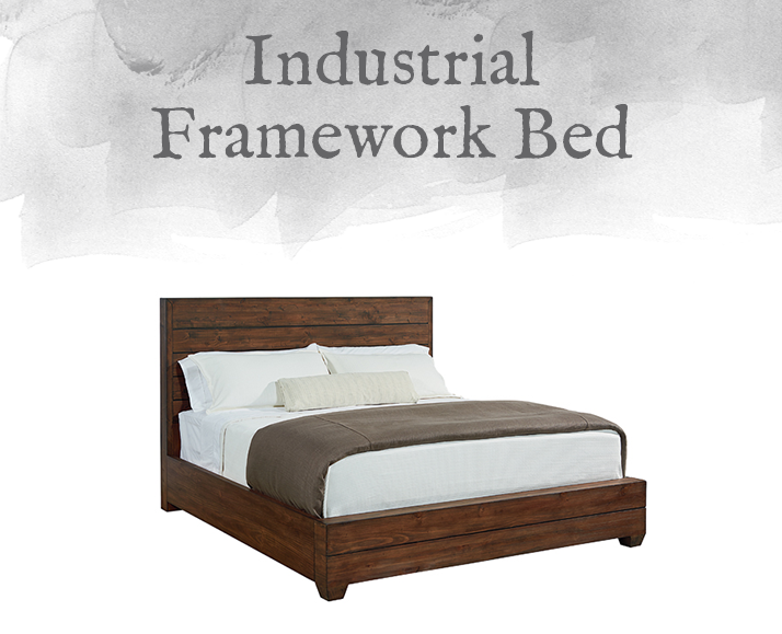 Industrial Framework Bed