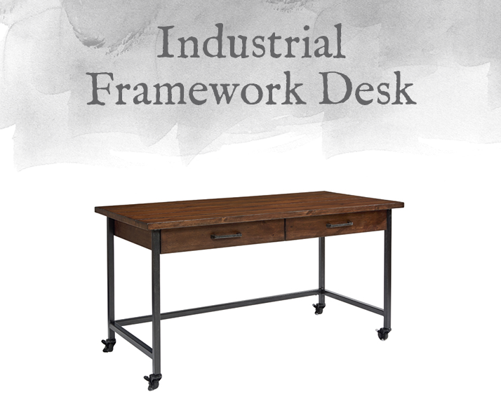 Industrial Framework Desk