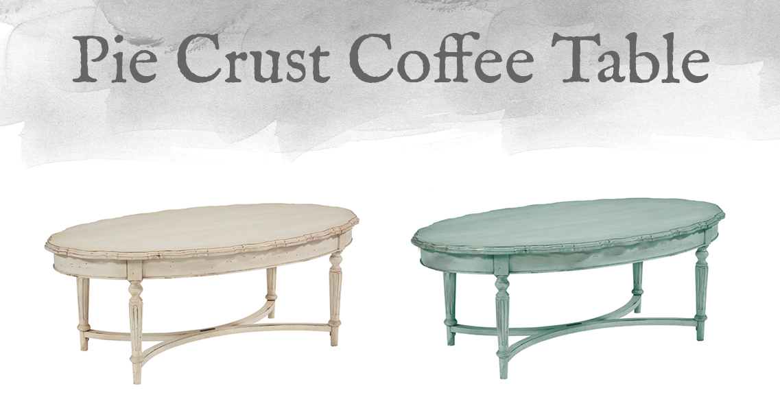 French-Inspired Pie Crust Coffee Table