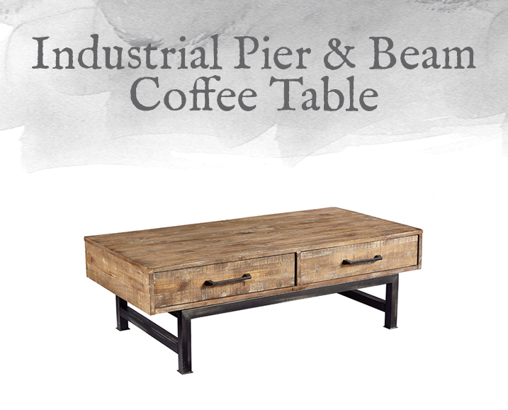 Pier & Beam Coffee Table
