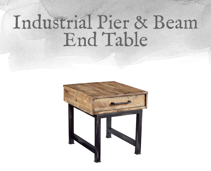 Pier & Beam End Table