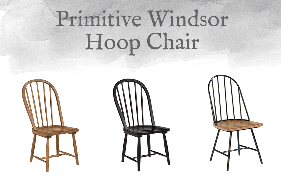 Primitive Windsor Hoop Chair