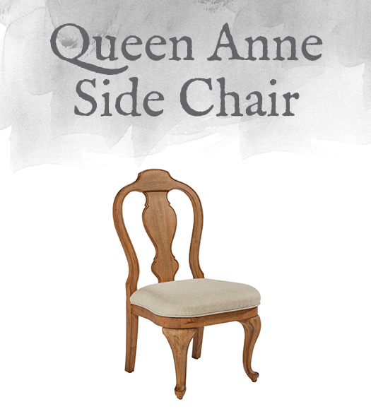 French-Inspired Queen Anne Side Chair