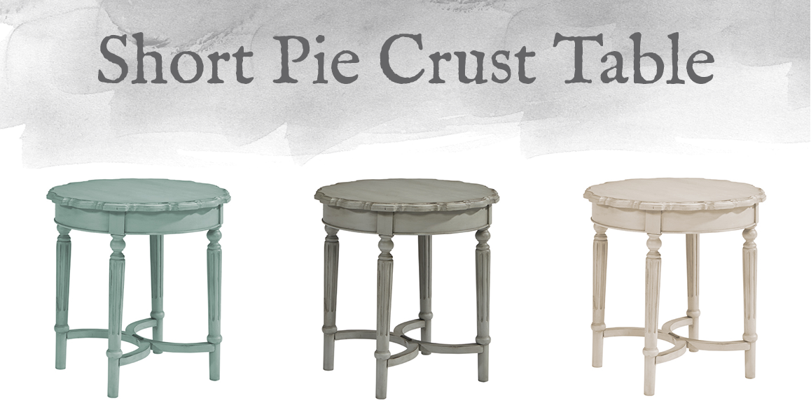 French-Inspired Short Pie Crust Table
