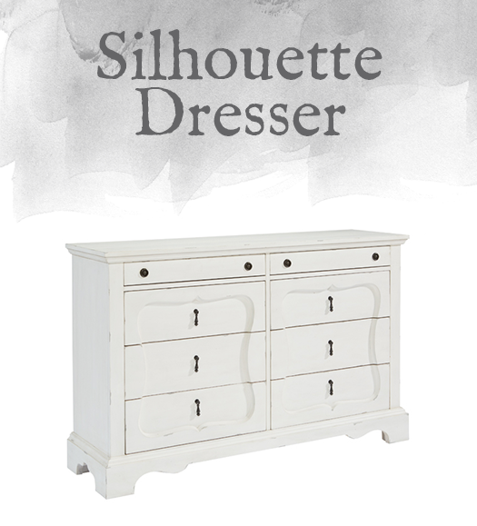 French-Inspired Silhouette Dresser