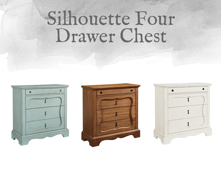 Silhouette Four Drawer Chest