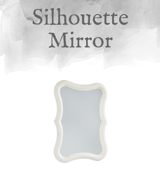 French-Inspired Silhouette Mirror