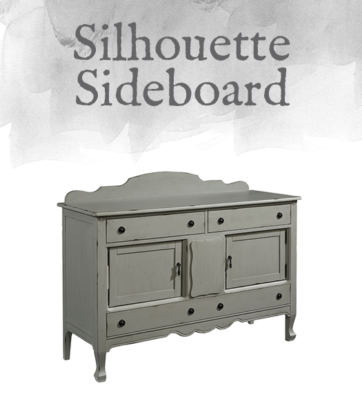 French-Inspired Silhouette Sideboard