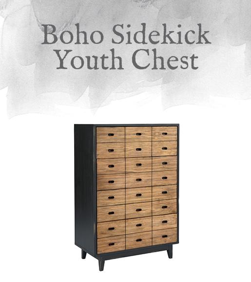 Boho Sidekick Youth Chest