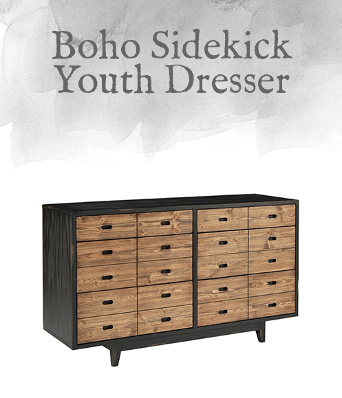 Boho Sidekick Youth Dresser