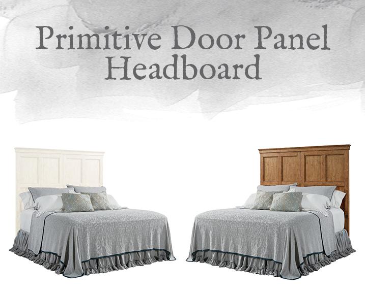 Door Panel Headboard