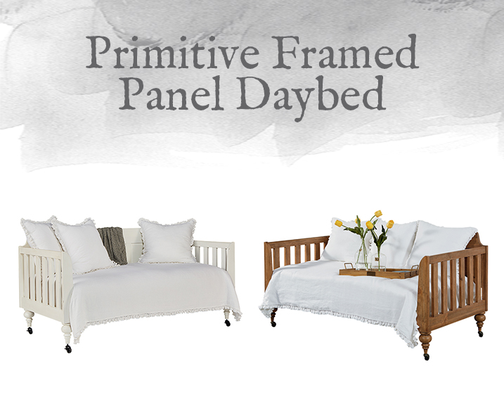 Framed Panel Daybed
