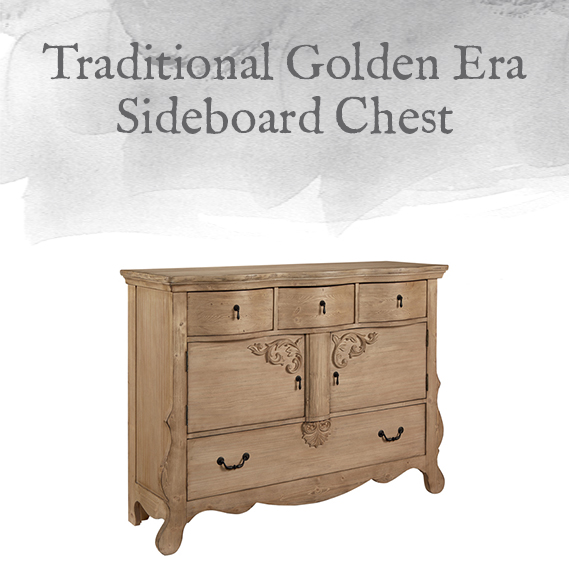 Golden Ear Sideboard Chest