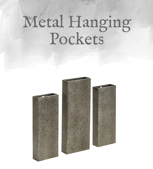 Metal Hanging Pockets