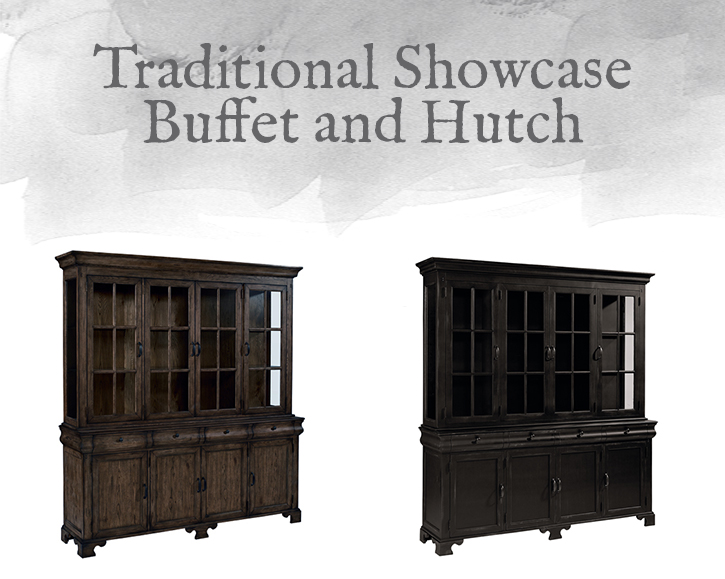 Showcase Buffet and Hutch