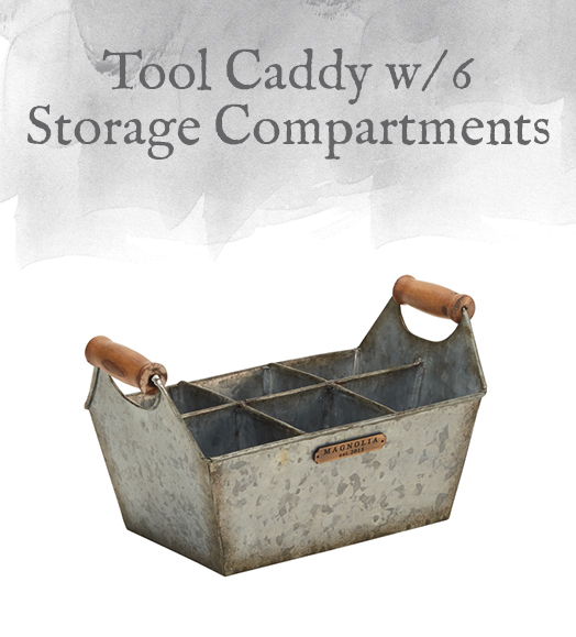 Tool Caddy with 6 Storage Compartments