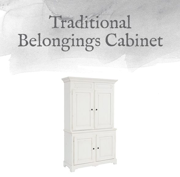 Traditional Belongings Cabinet