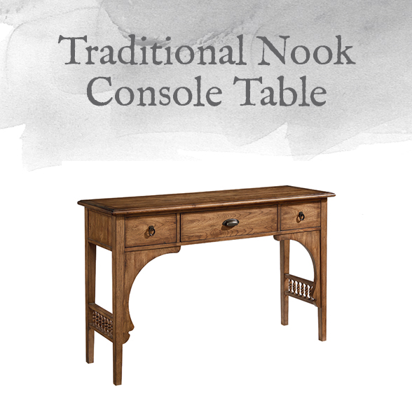 Traditional Nook Console Table