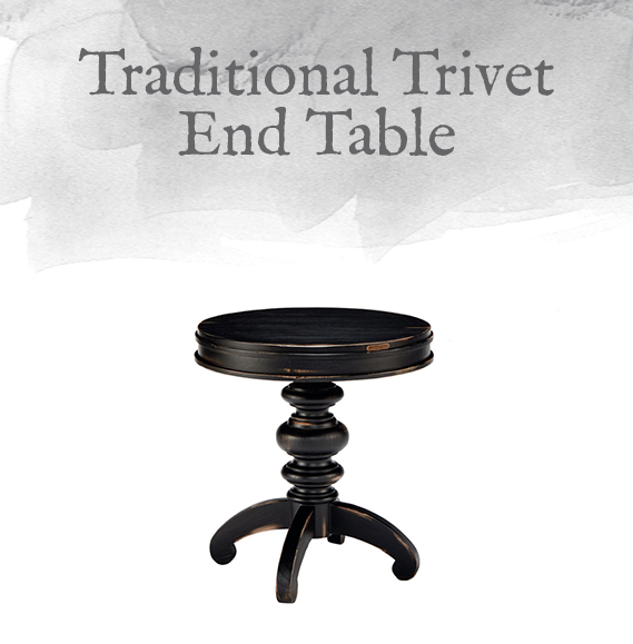 Trivet End Table