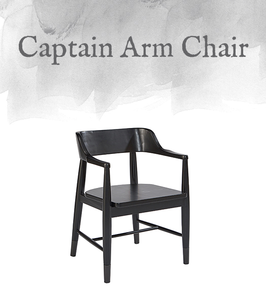 Magnolia Home Modern Captain Arm Chair