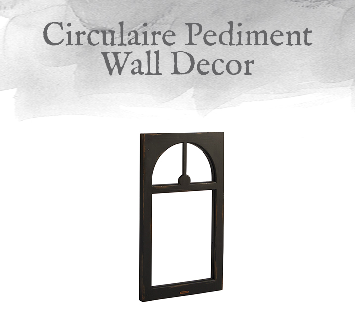 Circulaire Pediment Wall Decor
