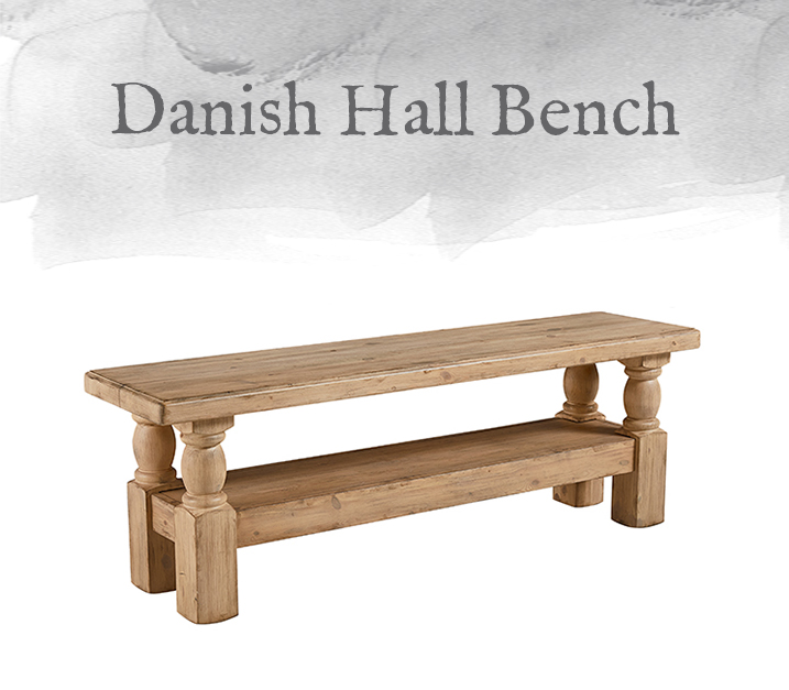 Danish Hall Bench