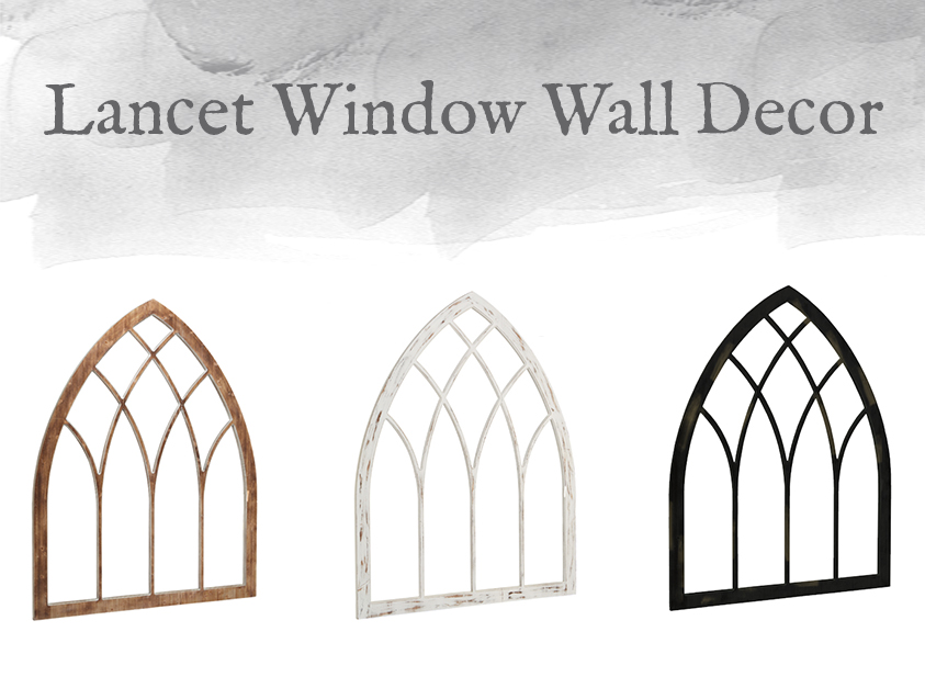 Lancet Window Wall Decor