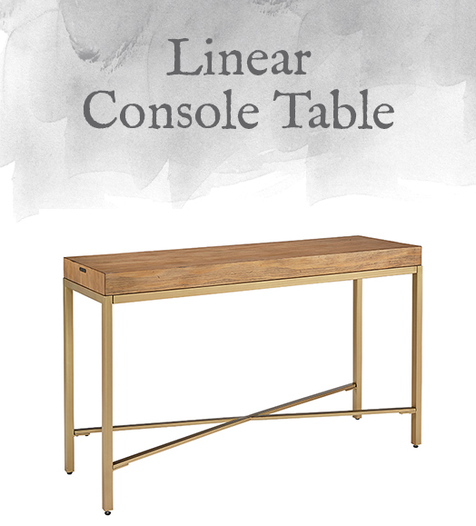 Magnolia Home Modern Linear Console Table