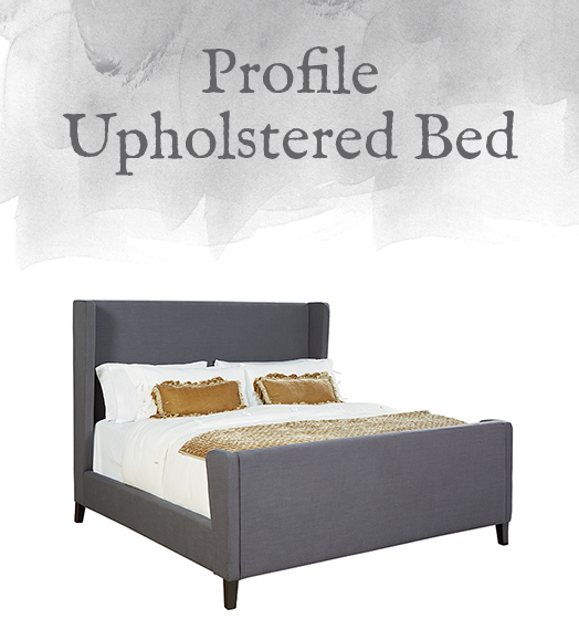 Magnolia Home Modern Profile Upholstered Bed