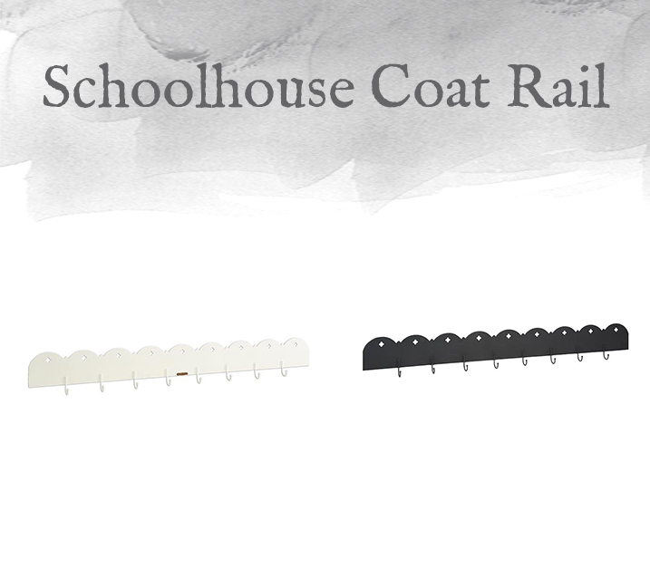 Schoolhouse Coat Rail