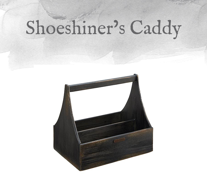 Shoeshiner's Caddy