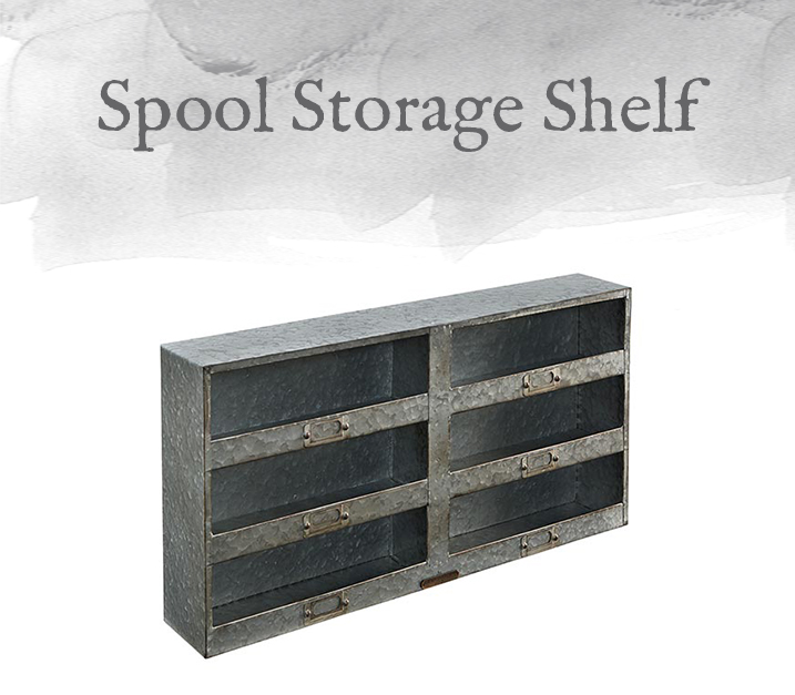 Spool Storage Shelf
